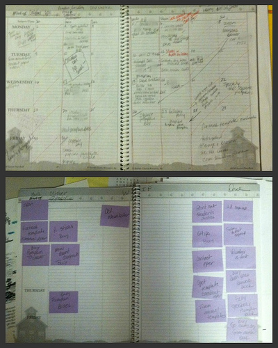 Teacher Planning Book Personal Kanban